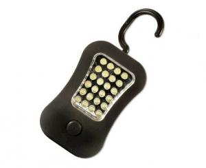Lanterna de lucru cu LED 24+4, cu magnet puternic si carlig, Arcas1