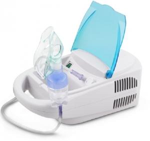 Aparat de aerosoli nebulizator cu compresor, kit complet de accesorii inclus [2]