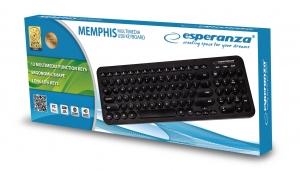 Tastatura Memphis cu taste rotunde, forma ergonomica, USB, cablu 1.5m taste imprimate cu culoare permanenta, 12 taste programabile1