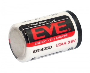 Baterie lithium 3.6 V LS14250 sau CR 1/2AA pentru alarme, sonerii, dispozitive medicale si alte dispozitive2