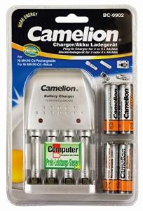 Incarcator BC 902 pentru AA,AAA, include 4 acumulatori AA 2500 mAh, Camelion1
