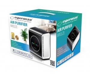 Purificator aer BREEZE cu 3 filtre si generator de ioni negativi capacitate 30 MC/h [3]