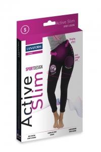 Colanti Active Slim pentru exercitii fizice cu fibre biorceramice si micromasaj 3D, marime M2