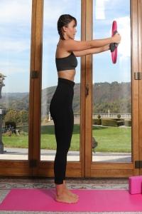 Colanti Active Slim pentru exercitii fizice cu fibre biorceramice si micromasaj 3D, marime M3