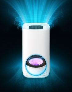 Purificator de aer Lanaform cu 3 filtre, carbon, pre-filtru si HEPA E11, carbon, lumina UV, 4 niveluri de functionare, timer 2, 4, 8h6