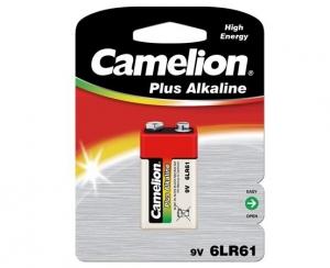 Baterie 9V alcalina 6LF22, 1 buc/blister Plus Alkaline, Camelion0
