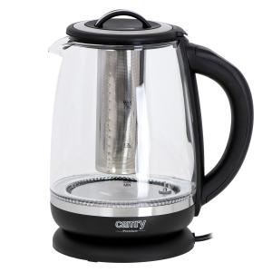 Cana electrica cu reglare temperatura 60-100 ° C si filtru ceai Camry 2l2