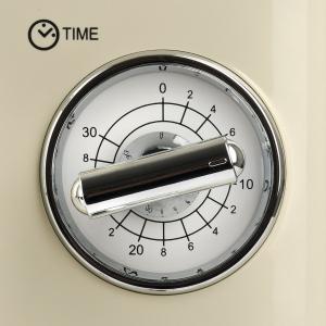 Cuptor cu microunde Girmi retro vintage, 20l, 700W, timer, grill, cream2