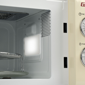 Cuptor cu microunde Girmi retro vintage, 20l, 700W, timer, grill, cream3