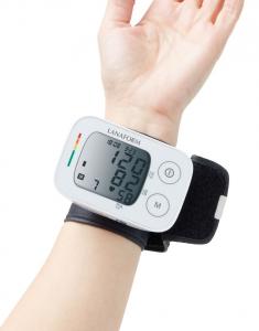 Tensiometru de incheietura Lanaform masuratori precise, total automatizat, ecran LCD, functie de monitorizare a tensiunii arteriale si a ritmului cardiac, memorie masuratori, portabil4