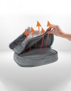 Aparat de masaj 2 in 1 Shiatsu Comfort si incalzire, 4 capete rotative, directie de rotatie dubla, 2 niveluri incalzire si vibratii, functie oprire automata6