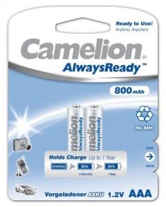 Acumulatori Camelion R03 800 mAh blister de 2 buc -Always Ready0