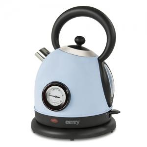 Cana electrica cu termometru Vintage MECR1252B 1,8 L 2200W culoare bleu azur0