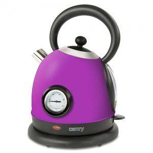 Cana electrica cu termometru Vintage MECR1252v 1,8 L 2200W culoare violet0