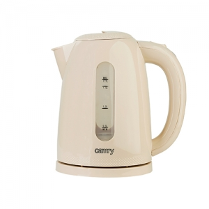 Cana fierbator 2200W, 1.7L , oprire automata, protectie supraincalzire, rotatie 360 culoare crem cafea cu lapte0