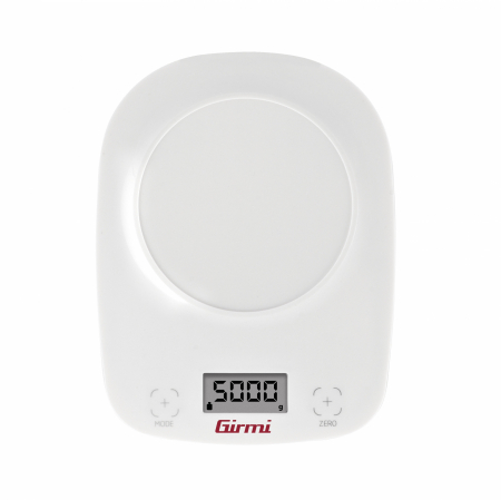 Cantar de bucatarie electronic cu bol Girmi, capacitate max. 5 kg, diviziune 1g, functie tara, oprire automata, alb [2]