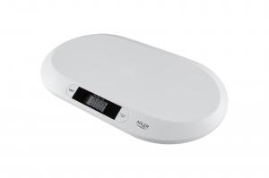 Cantar digital pentru bebelusi cu precizie de g, forma ergonomica, ecran LCD3