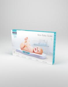 Cantar digital pentru bebelusi Lanaform New Baby cu precizie de 5 g, forma ergonomica, ecran LCD2