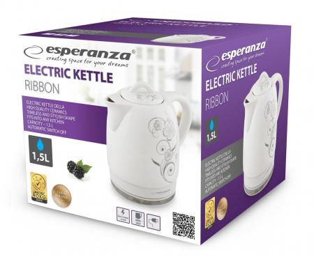 Ceainic electric din ceramica emailata 1.5 l,  1350 W [2]