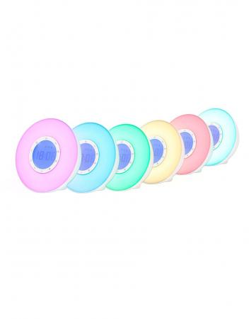 Ceas desteptator cu radio, lumina rasarit si apus alarma si sunete, LED multicolor Lanaform Wake-up [4]