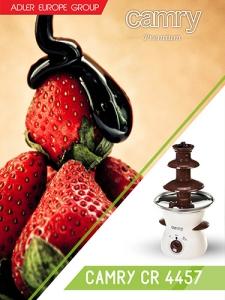Fantana de ciocolata pe 3 nivele 500 ml 80w5