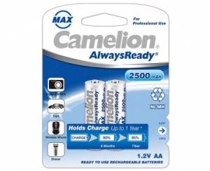 Acumulatori  R06, 2500 mAh, blister de 2 buc, Always Ready, Gata Incarcati, Brand Camelion Germania incarcare fara efect de memorie de pana la 1000 de reancarcari0