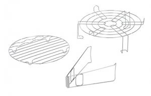 Cuptor cu convectie 12-14l cu utilizare diversa de coacere, prajire, gratar, abur, cuptor, dezghetare, incalzire3