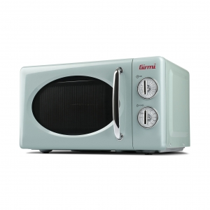 Cuptor cu microunde Girmi retro vintage, 20l, 700W, timer, grill, verde1