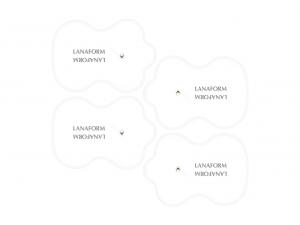 Electrozi adezivi electrostimulare Lanaform set 4 bucati pentru electrostimulator Lanaform1