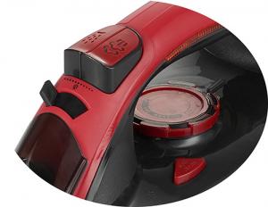 Fier de calcat MEMS5031 cu talpa ceramica 3000W calcare orizontala, calcare verticala, 5 functii, 4 sisteme smart, rosu-negru5