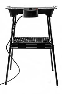 Gratar electric 2 in 1 pentru masa sau gradina, 2000W, reglare temperatura, termostat1