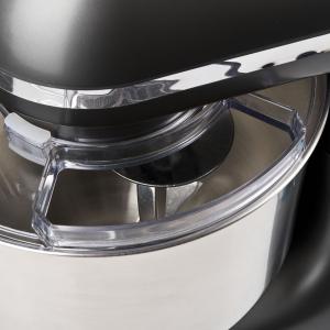 Mixer cu bol din otel inoxidabil Girmi Gastronomo cu performante profesionale 6 viteze + functie Pulse, vas 8l, 1400W, negru6