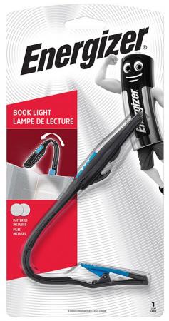 Lampa de carte Energizer clema flexibila, 2 baterii CR2032 incluse [0]