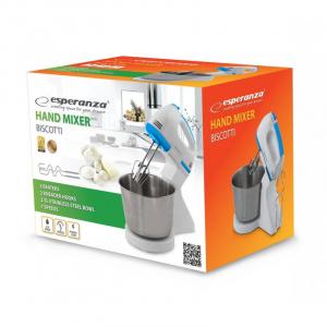 Mixer cu bol inox  2.5 litri, 7 viteze, accesorii pentru mixare, framantare, amestecare [2]