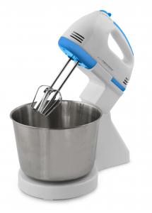 Mixer cu bol inox  2.5 litri, 7 viteze, accesorii pentru mixare, framantare, amestecare [0]
