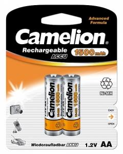 Acumulatori  R06 AA, 1500 mAh, blister de 2 buc, Camelion0
