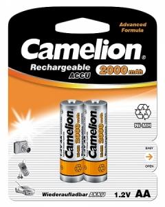 Acumulatori Camelion R06 AA 2000 mAh blister de 2 buc0
