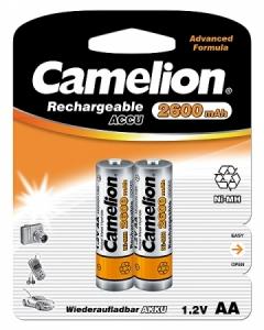 Acumulatori  R06 AA, 2600 mAh, blister de 2 buc, Camelion0