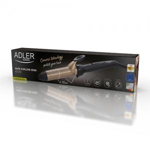Ondulator de par Adler cu tambur ceramic de 32mm pentru bucle lejere, design ergonomic1
