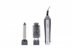 Perie electrica Adler AD203 cu aer cald 550W, 2 capete interschimbabile utile pentru uscare sau coafare [5]