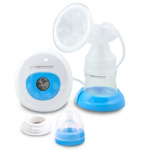 Pompa de san electrica Bebita cu 2 moduri de lucru stimulare si aspirare  9 niveluri, 3 surse de alimentare0
