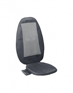 Saltea masaj Lanaform - Relax Mass cu incalzire si vibratii, masaj Shiatsu, 3 zone masaj, 3 intensitati, 68,8x15,2x45,7 cm2