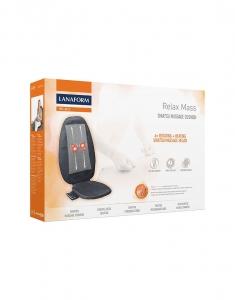 Saltea masaj Lanaform - Relax Mass cu incalzire si vibratii, masaj Shiatsu, 3 zone masaj, 3 intensitati, 68,8x15,2x45,7 cm4