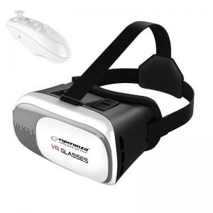 Ochelari VR 3D cu Telecomanda bluetooth, control jocuri0
