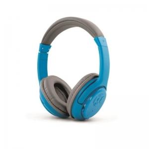 Casti Stereo Bluetooth 3.0, microfon, diametru 40 mm, culoare negre, albe sau albastre, Esperanza Libero0