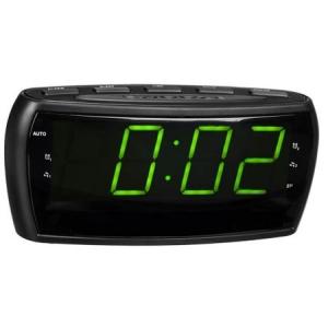 Radio ceas cu alarma si display mare verde relaxant LED 16 cm0