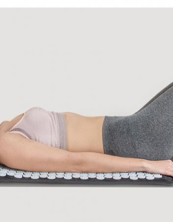 Saltea de masaj Lanaform Delight cu masaj Shiatsu, acupresiune si incalzire, 10 motoare, 5 moduri prestabilite, 3 niveluri intensitate, 3 zone incalzite, 175 x 75cm3