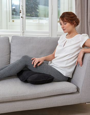 Saltea de masaj Lanaform Delight cu masaj Shiatsu, acupresiune si incalzire, 10 motoare, 5 moduri prestabilite, 3 niveluri intensitate, 3 zone incalzite, 175 x 75cm1