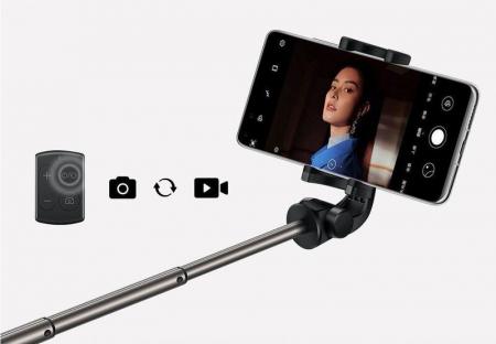 Selfie stick cu trepied Huawei CF15 Pro  wireless bluetooth, rotatie 360 grade8