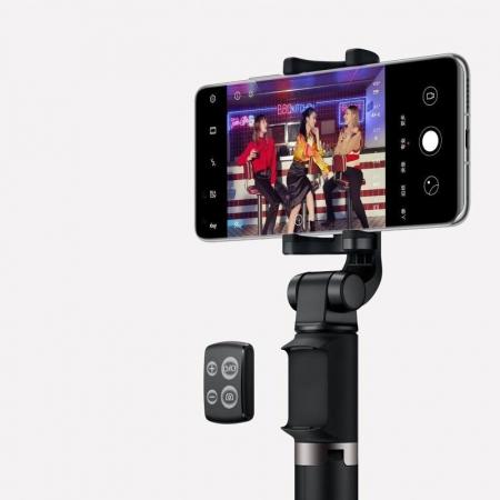 Selfie stick cu trepied Huawei CF15 Pro  wireless bluetooth, rotatie 360 grade9